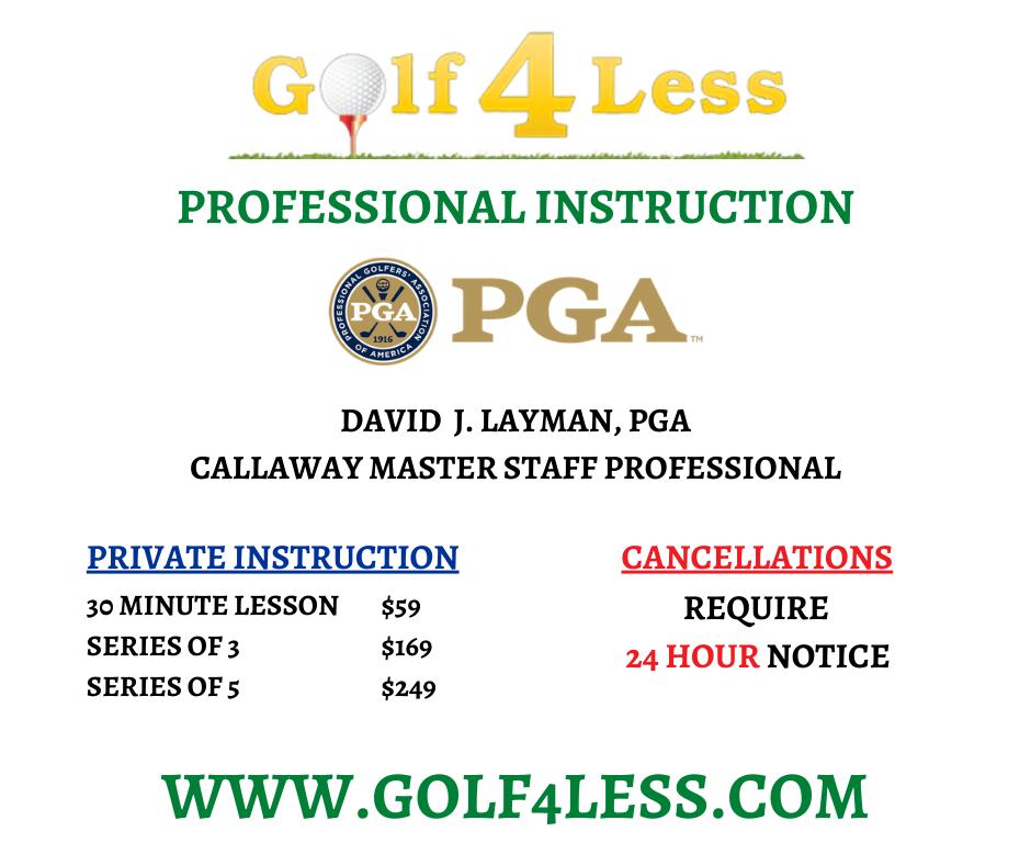 pricing - golf4lessaz